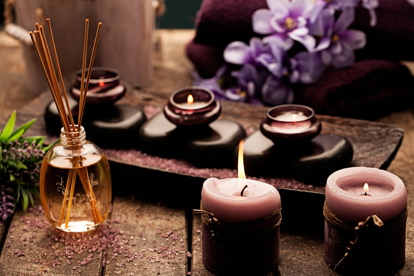 Relaxation Candles Scent Las Vegas